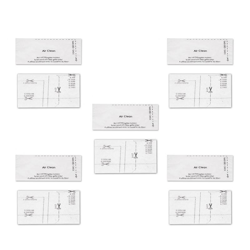 10pcs//5Set Air Clean Filter For Miele S240,S250,S290,S300,S4,S5 Series Durable