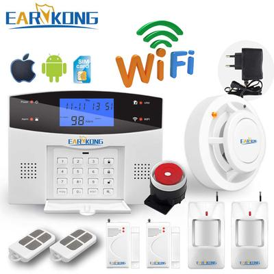 Wifi Gsm Alarm System Gprs Rfid Tft Screen Touch Keyboard Home Burglar Alarm Buy At A Low Prices On Joom E Commerce Platform