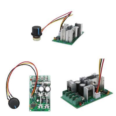 PWM Fan DC Motor Speed Controller Module 1200W 20A DC 12V//24V//36V//48V 25KHZ Set
