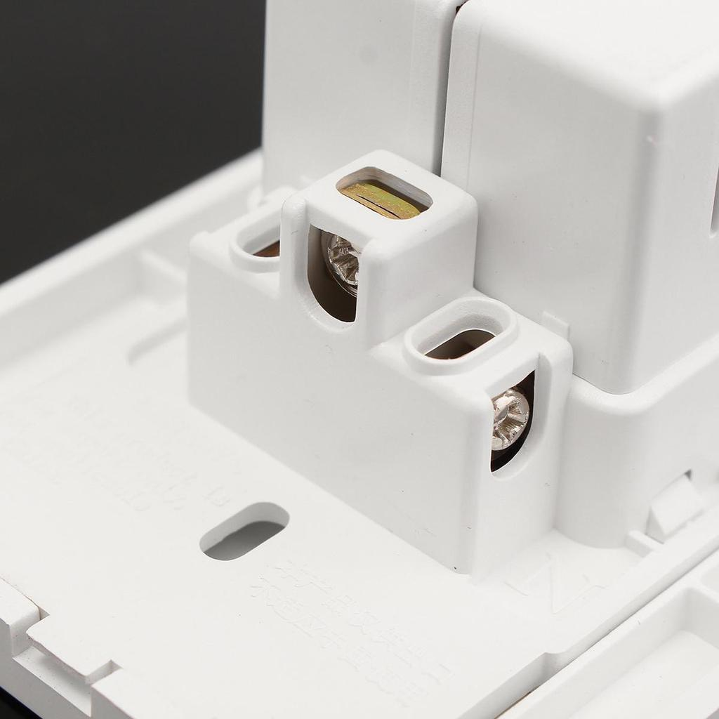 AC125V 15A Duplex Strom Steckdose Panel mit DC5V 2A Dual USB Wand ...