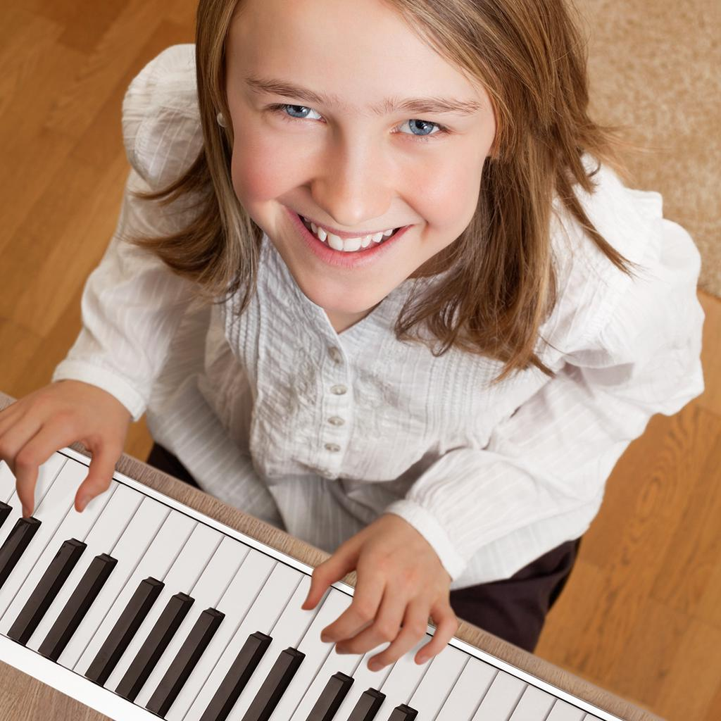 61 Keys Roll-Up Piano Portable Electronic USB MIDI Keyboard w//LCD Digital Display /& Loudspeaker 128 Tones 100 Beat 40 Demo Songs Music Toys for Children Adult Beginners Gift
