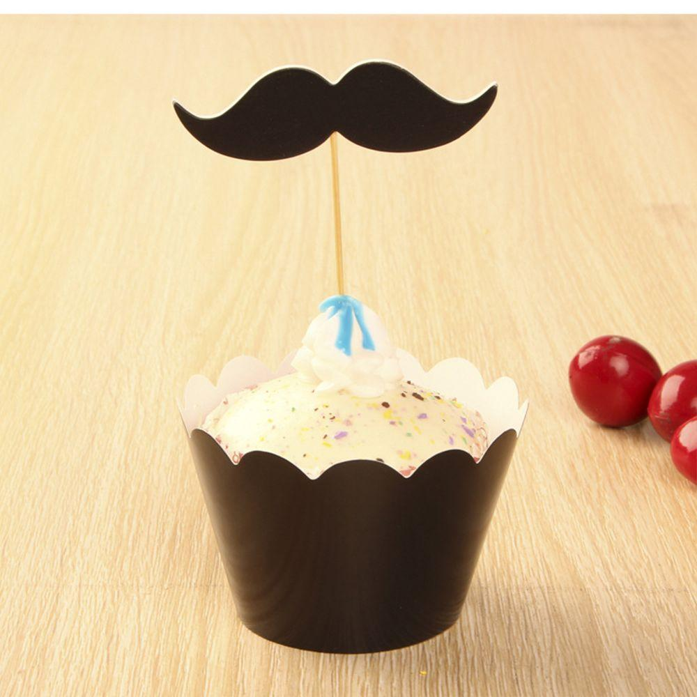 Küche Geburtstag Dekoration Schnurrbart schwarzen Bart ...