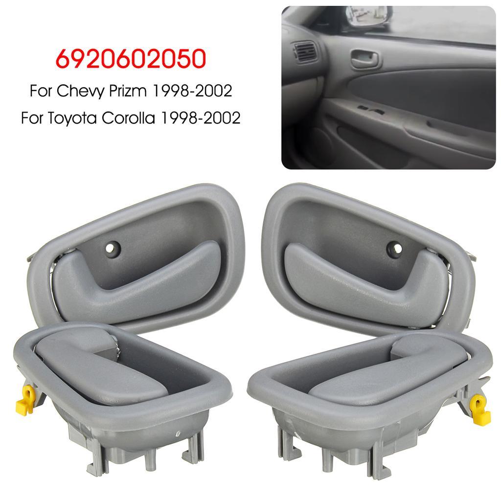 4x gray interior door handle 6920602050 for toyota corolla geo chevy prizm 1998 02 buy at a low prices on joom e commerce platform joom