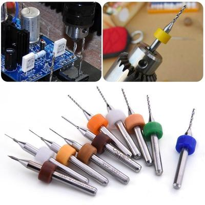 10x 1.0mm Tungsten Steel Mill Engraving Bit Router PCB CNC Rotary Cutting Tool