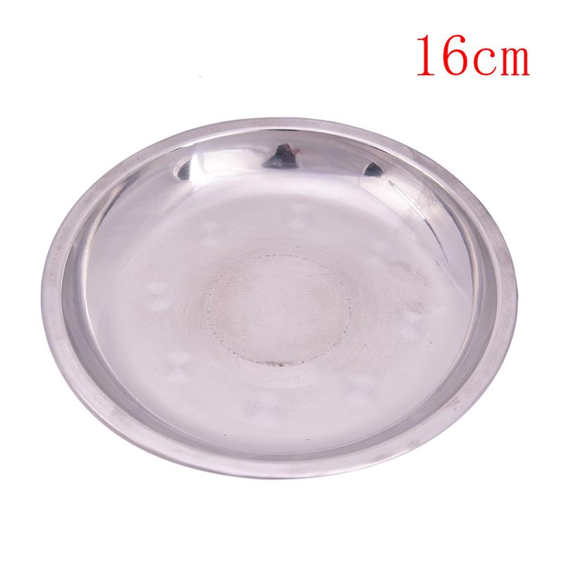 Dinner Plate Round Double-Layer Insulated Dish Camping Barbecue Tableware