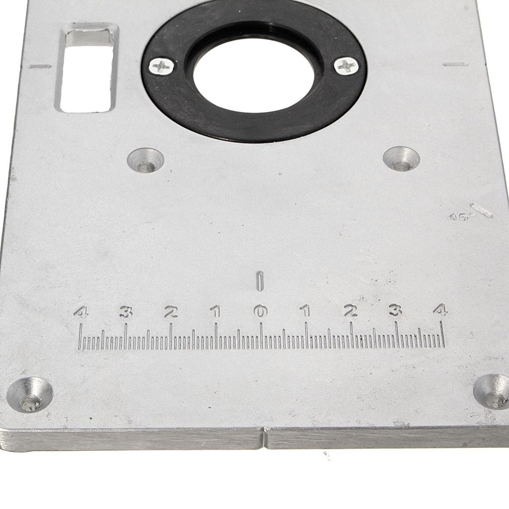Aluminum metal sliver router table insert plate insert rings diy 1 of 6 greentooth Image collections