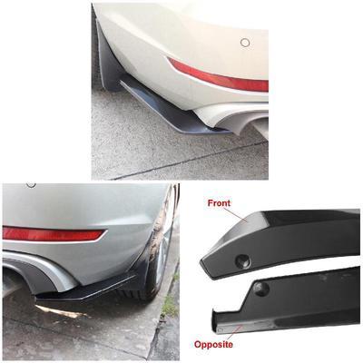 Spoiler Car Diffuser Durable Bumper 2pcs Rear Splitter Angle Protector  Canard Auto Court