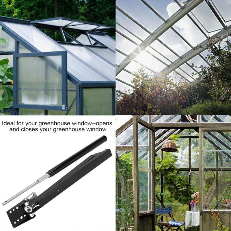 1pc Solar Greenhouse Automatic Window Opener Auto Roof Vent Green house Autovent