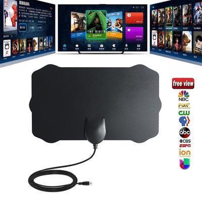 Indoor HD TV Antenna Digital HDTV Aerial Signal Amplified 50 Mile Range VHF UHF