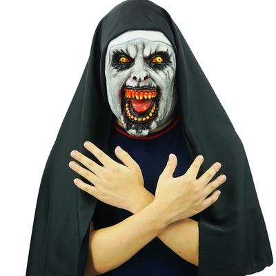 Scary Halloween Latex Cosplay Scary Face Mask Costume Full Head Props Decoration