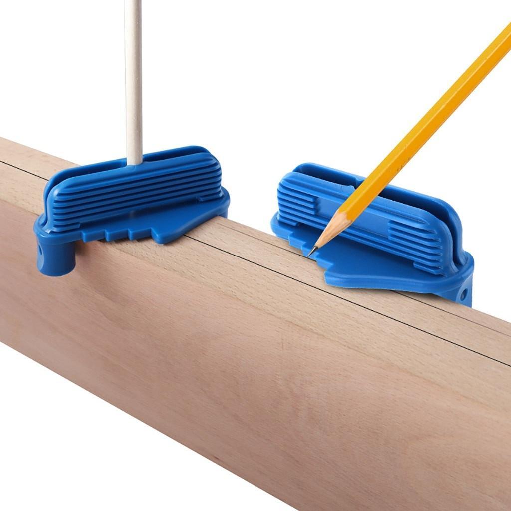 Rockler Center Offset Marking Carpenter Bottom Gauge Pencils Woodworking Scribe