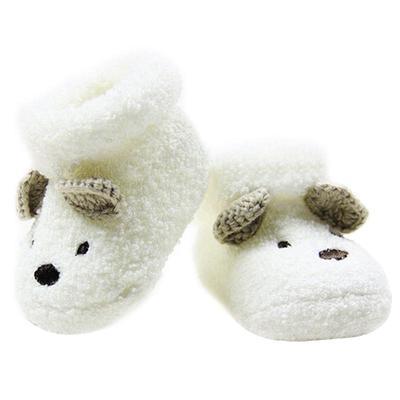 4a0712120 Nueva caliente calcetines recién nacido bebé Unisex niño niñas infantil oso  lindo pesebre caliente zapatos Au