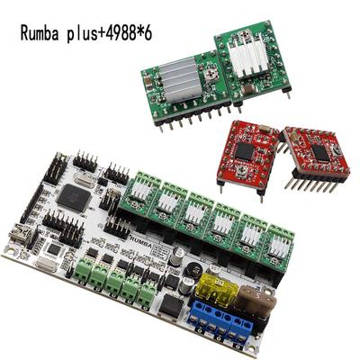 Motor Driver 6*A4988 3D Printer Part Geeetech Rumba MKS Gen L V1 4
