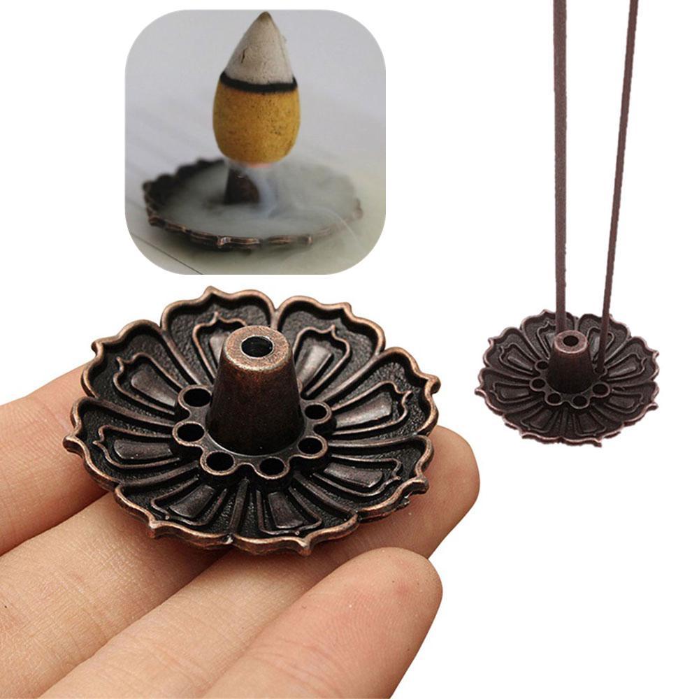 1PC Lotus цветок ладан горелки держатель пластины Главная украшения элементы – купить по низким ценам в интернет-магазине Joom