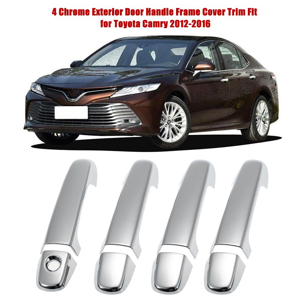 For Toyota Camry 2018 2019 Red quality ABS Car Headlight Switch Frame Cover Trim