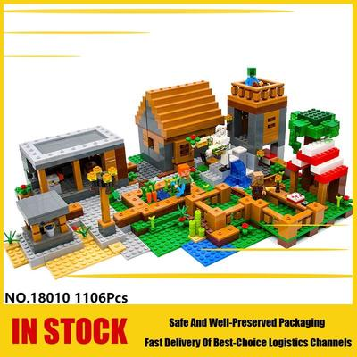 New Minecraft The Jungle Temple Model Building Blocks set figure Toys Kids Gifts