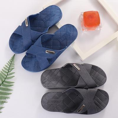Summer Slippers Fashion Men Shower Shoes Slippers House Pool