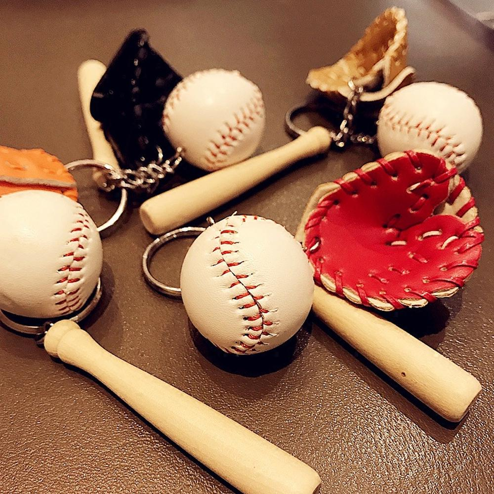 Criativo de beisebol Keychain saco pendente esportes Memento ... 9157fae4a28