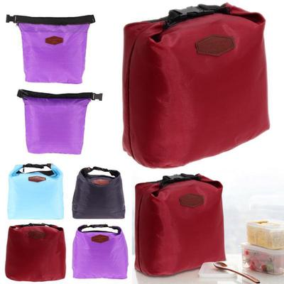 Waterproof Thermal Cooler Insulated Lunch Box Storage Portable Picnic Bag