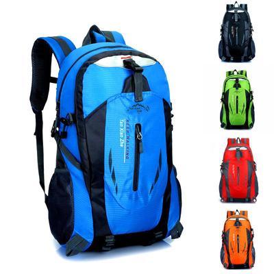 shoulder bag 40L outdoor mountaineering bag waterproof breathable leisure travel backpack
