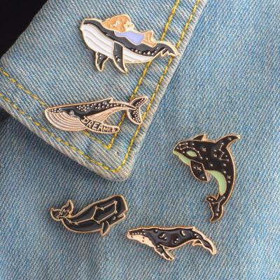 Cartoon Pencil Brooch Gesture Enamel Pin Alloy Brooch Button Jackets Badge Brooches Fashion Jewelry Durable and Useful