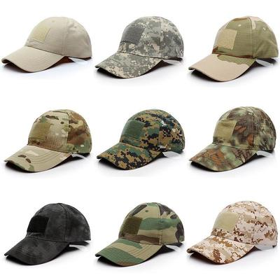 687f82a72de Outdoor sport Snapback Caps Camouflage Hat Simplicity Tactical Military  Army Camo Hunting Cap Hat