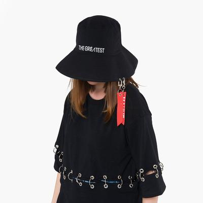 5f8c981ad76 Fisherman hat personality alphabet basin flat top big visor manufacturers ribbon  women cap wooden. -46%. Price  14 Price  26. Women Peaked Hat HipHop Curved  ...