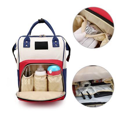 1PC Large Capacity Mummy Diaper Bags Zipper Travel Backpacks Pregnant Baby Nappy Nursing Diaper Bags