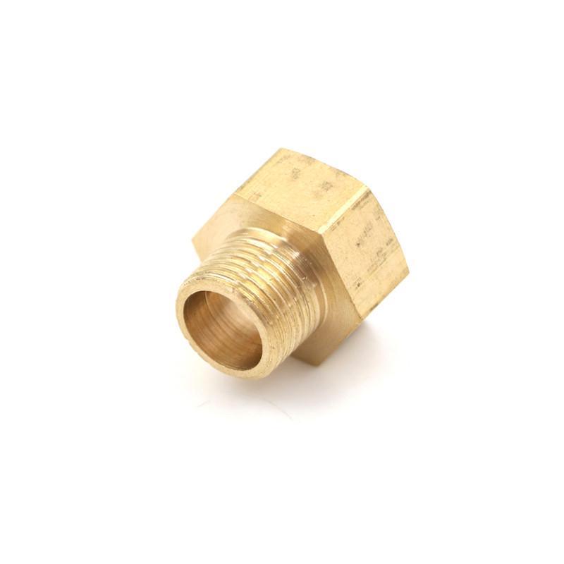 """Codo De Latón 8 mm Manguera Cola 3//8/"""" Adaptador de conector macho BSP rosca de montaje"""