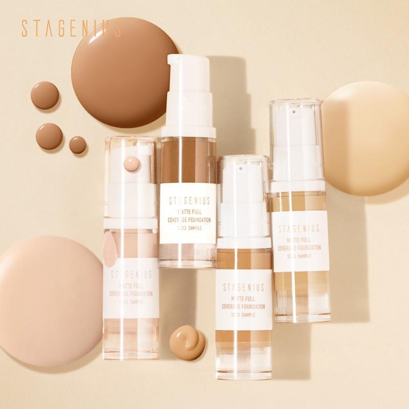 Makeup Base Matte Face Foundation Cream