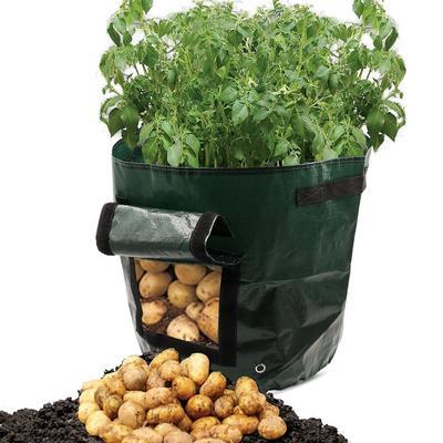 1 Pc DIY Potato Grow Planter PE Cloth Planting Container Bag Thicken Garden Pot