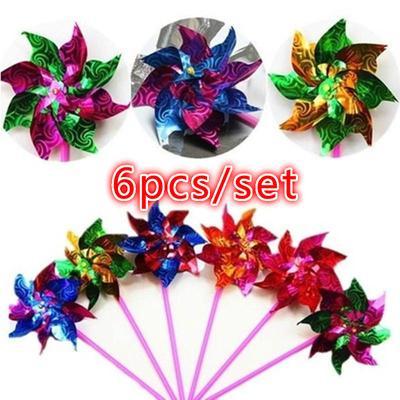 Kids Windmills Plastic Windmill Toy Boys&girls Classic Toys Diy ... | 400x400