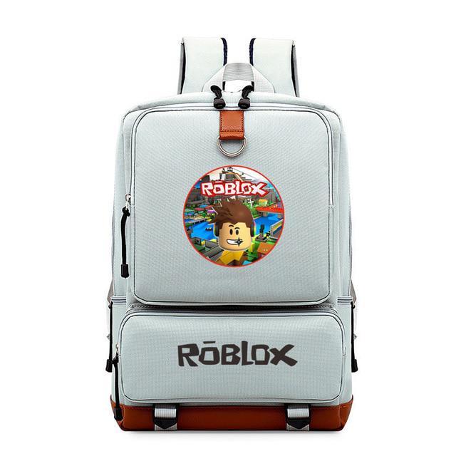 3D 6 Colors Roblox 43cm Printed Backpack School Book Bag Christmas Gift  Boys Girl Cartoon Mochila