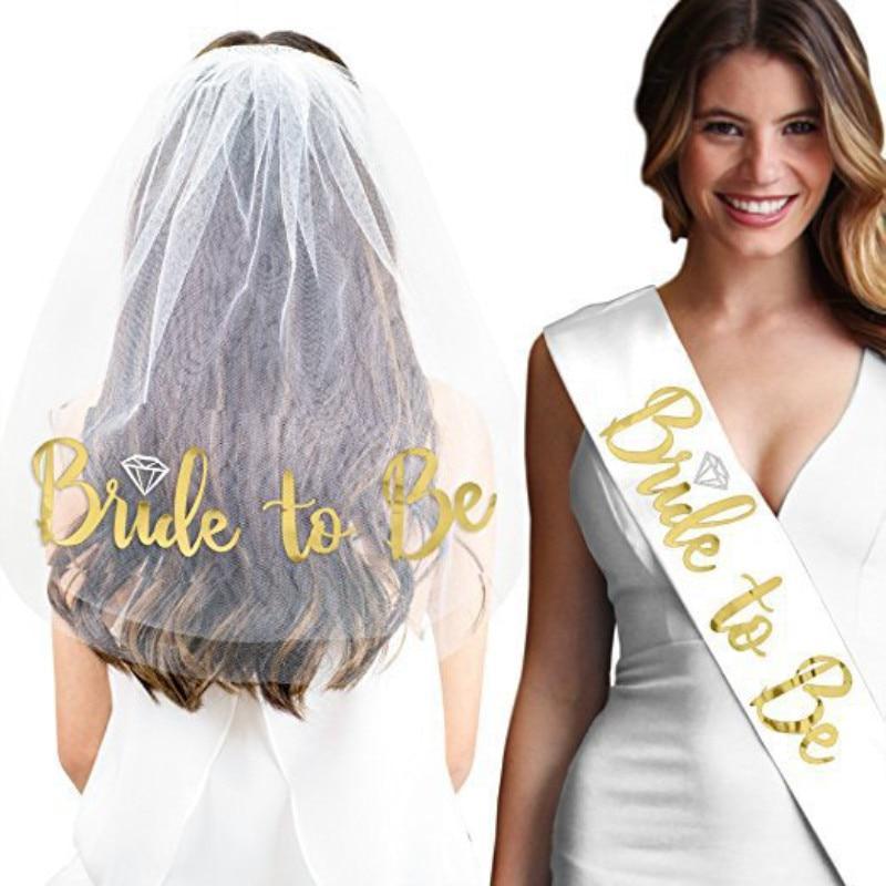 BRIDE TO BE TIARA HEN NIGHT CROWN WITH VEIL PURPLE BULK GIRLS WOMENS PARTY HAT