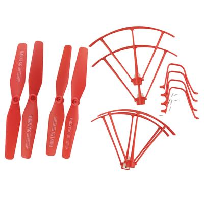 Landing Skid for Syma X8SW X8SC X8SG X8 Pro Guard Ring Red Propeller prop