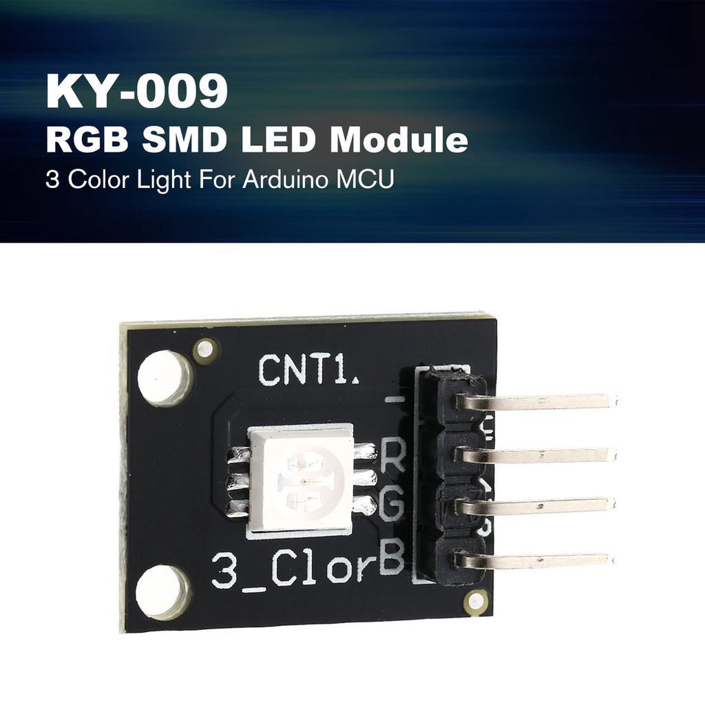 KY-009 5050 Pwm RGB SMD LED Module 3 Color Light For Arduino MCU Raspberry