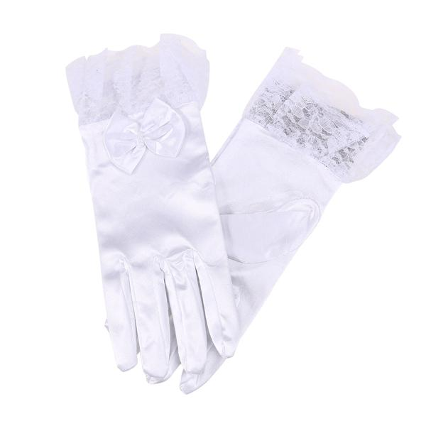 Yummy Bee Gloves Elbow Length Fingerless Wedding Party Evening Fancy Dress Prom