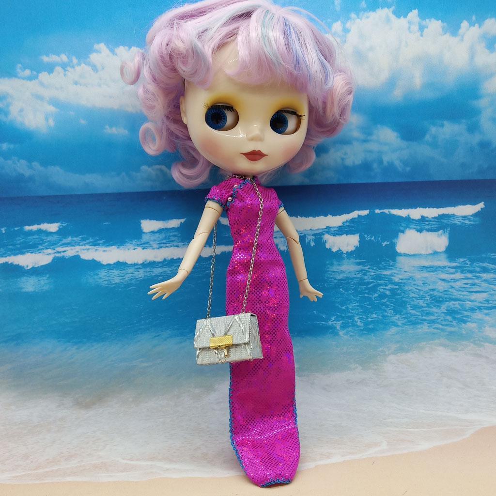 Cute Handmade Handbag for 1//6 Girl Dolls BJD Licca Blythe Dolls Toy Gifts