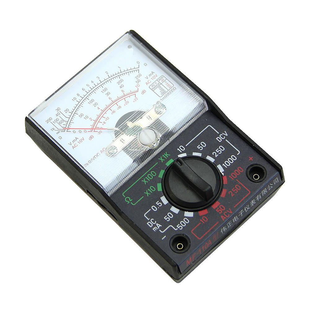 Ohm voltmeter ammeter electrical teaching ac/dc ohm multimeter dc/ac  current meter pointer multimeter