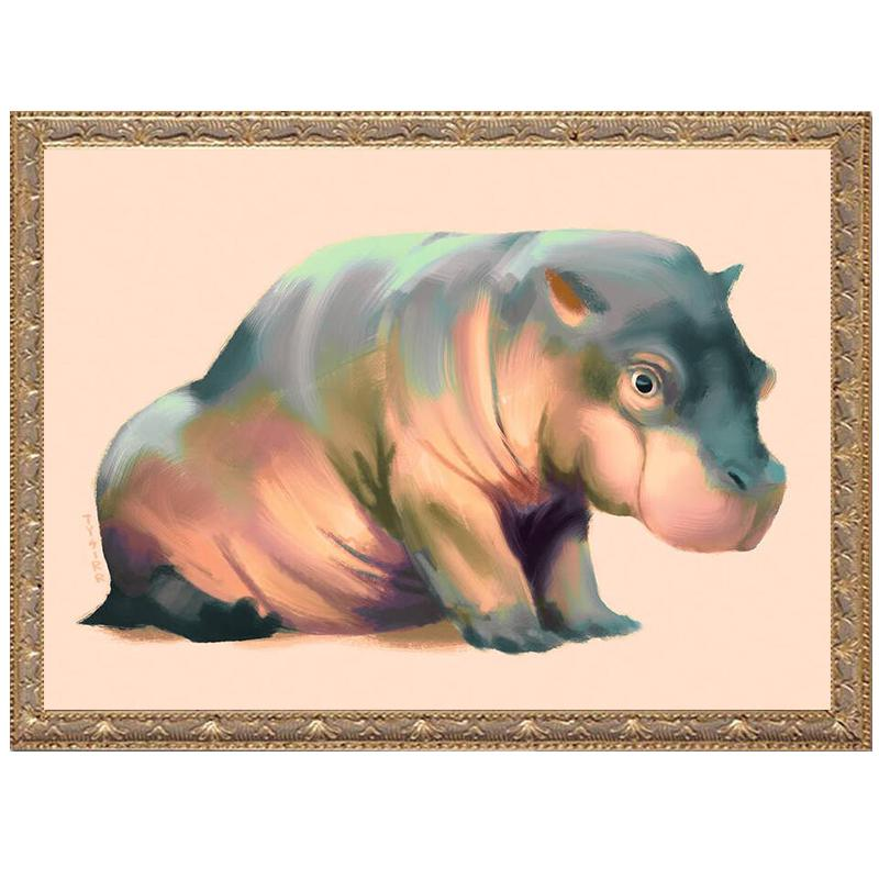 5D DIY Diamond Painting Cartoon Animals Mouse Full Square Drill Mosaic Rhinestones Stickers 3D Animals Diamond Home Decoration