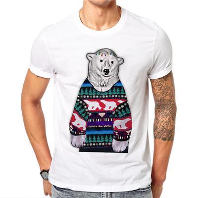 -44%. 4.5Price  10 Price  18. Cartoon Sweater Bear Men Summer Tops Print  Animal ... 52edc3299