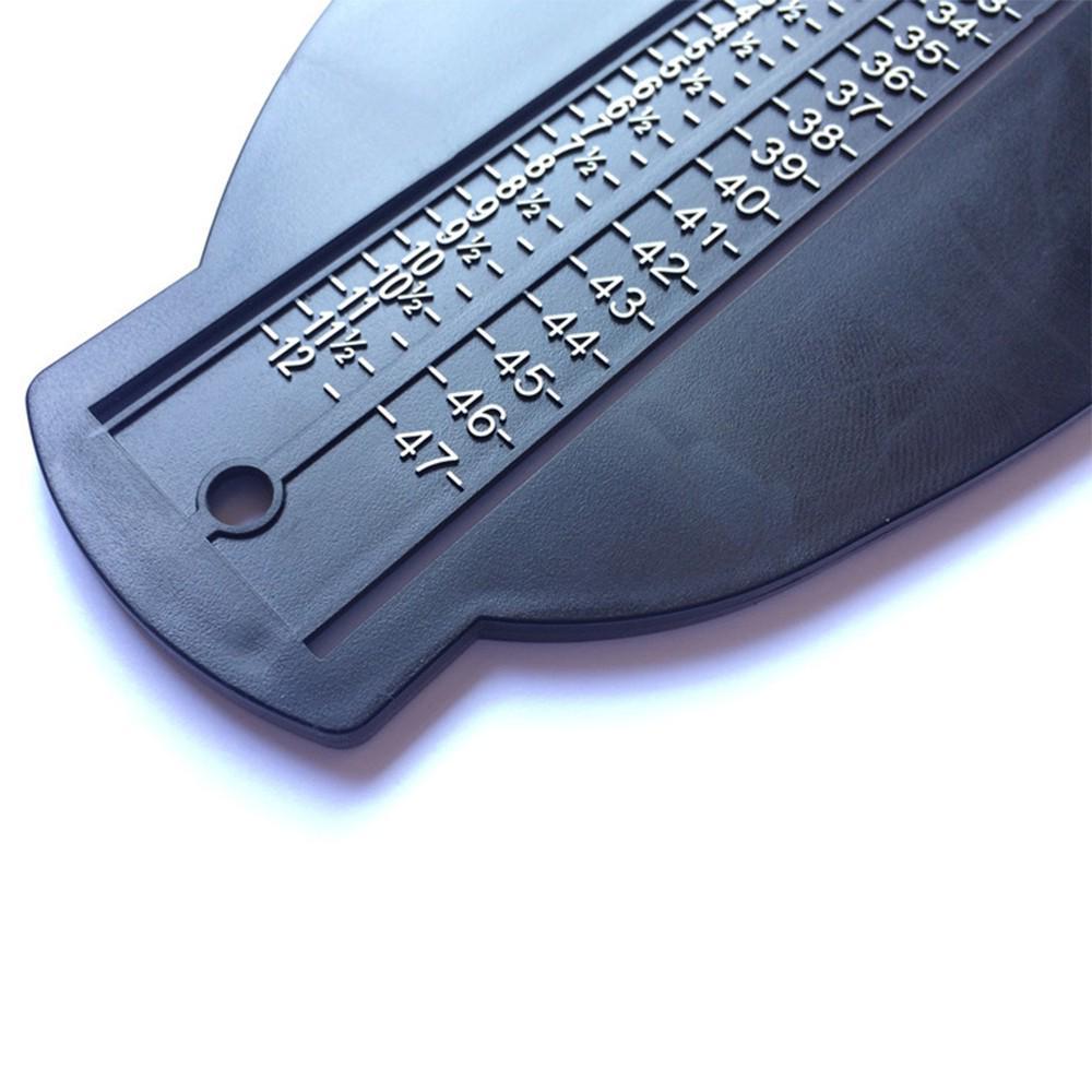 1Pcs Adult Adjustable Foot Measure Gauge Device Shoes Size Measuring Ruler Tools