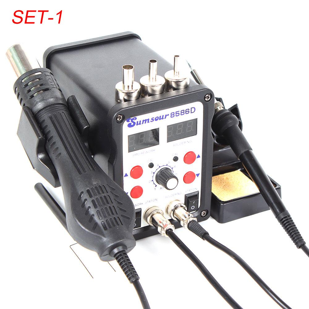 75W Digital Display Soldering Iron Temperature Controlled ESD Station with High Efficiency BK938