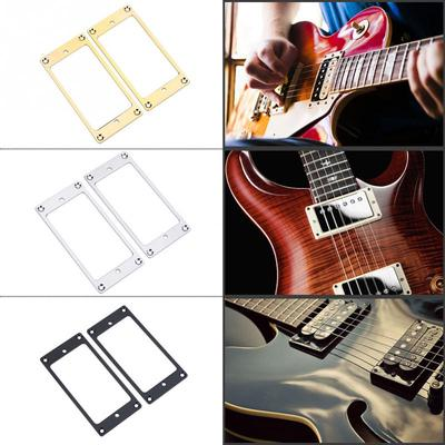 2Pcs 5 String Pickup Covers Closed Seal Type for JB Bass Electric Guitar New