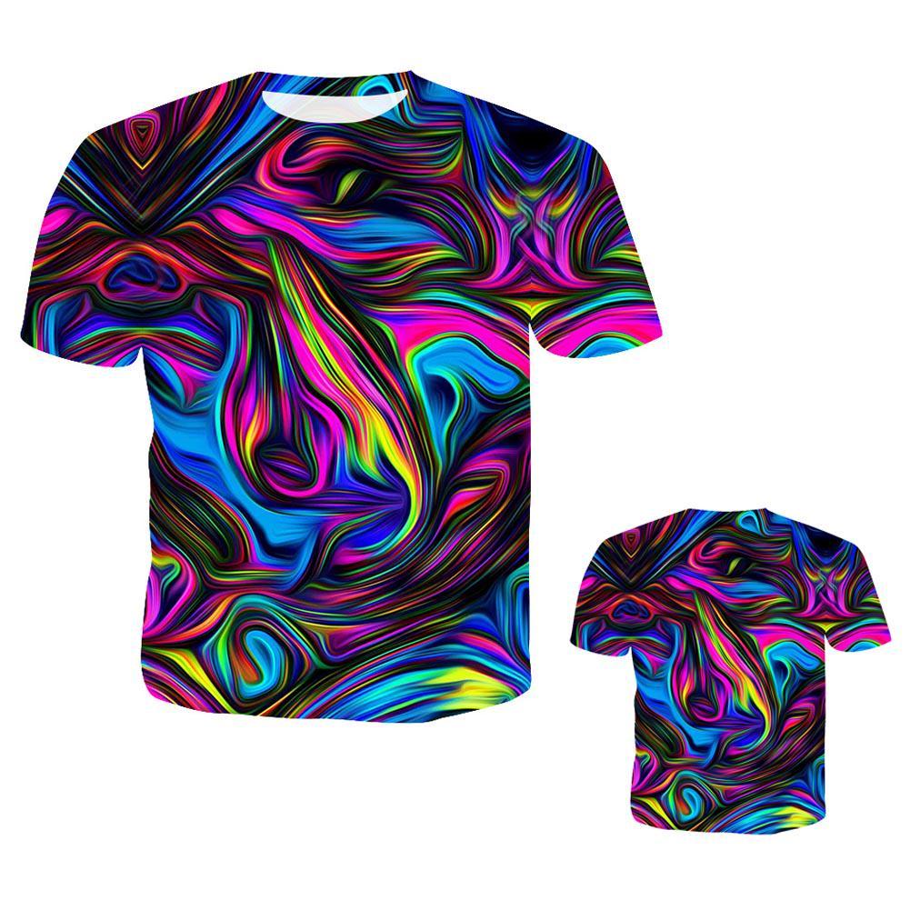 New Fashion Women Men Formal Wear 3D Print Casual T-Shirt Short Sleeve Tops Tee