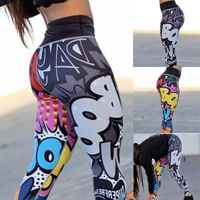Women S Fashion 3d Printed Yoga Pants Leggings Sport Gym Running Skinny Workout Pencil Long Pants Buy At A Low Prices On Joom E Commerce Platform