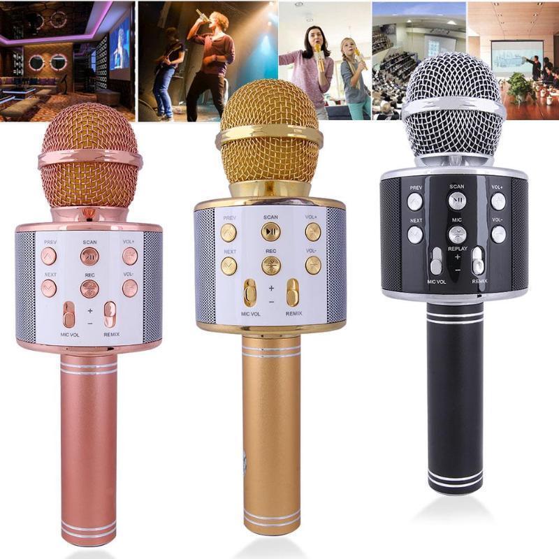 Mini Karaoke Kondensatormikrofon für Telefon Computer Telefon Mikrofon Neu Nett