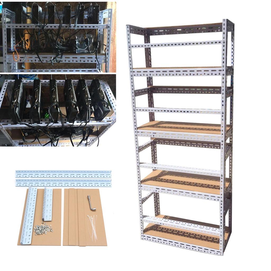 Generic Mining Frame Rig Case per 12 GPU Mining Crypto Valute Rigs Miner DIY : luigirota.it: Fai da te