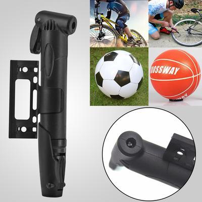 Hand Sport /& Cycling Bicycle Air Pump Ball Basketball Soccer Bike Tyre Inflator@