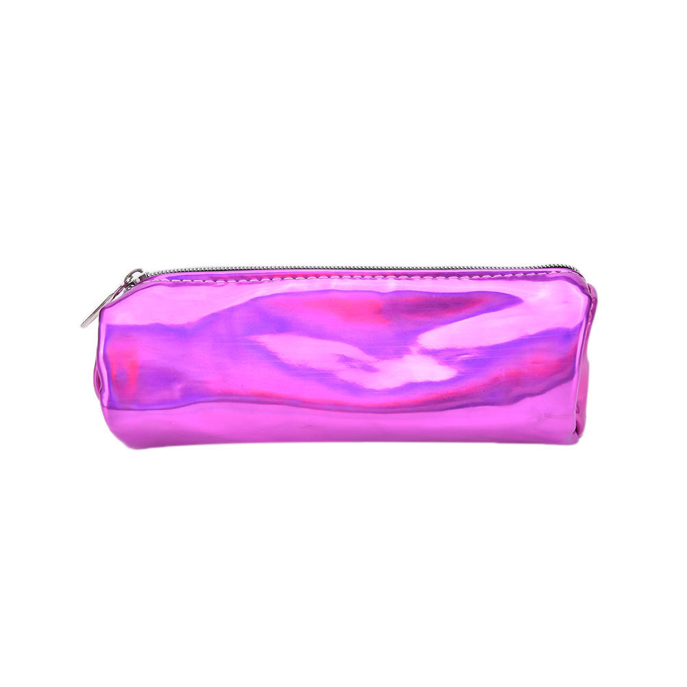 Fashion Hologram Pencil Case Pen Holder Makeup Boxes Zipper Comestic Storage Bag-buy at a low prices on Joom e-commerce platform